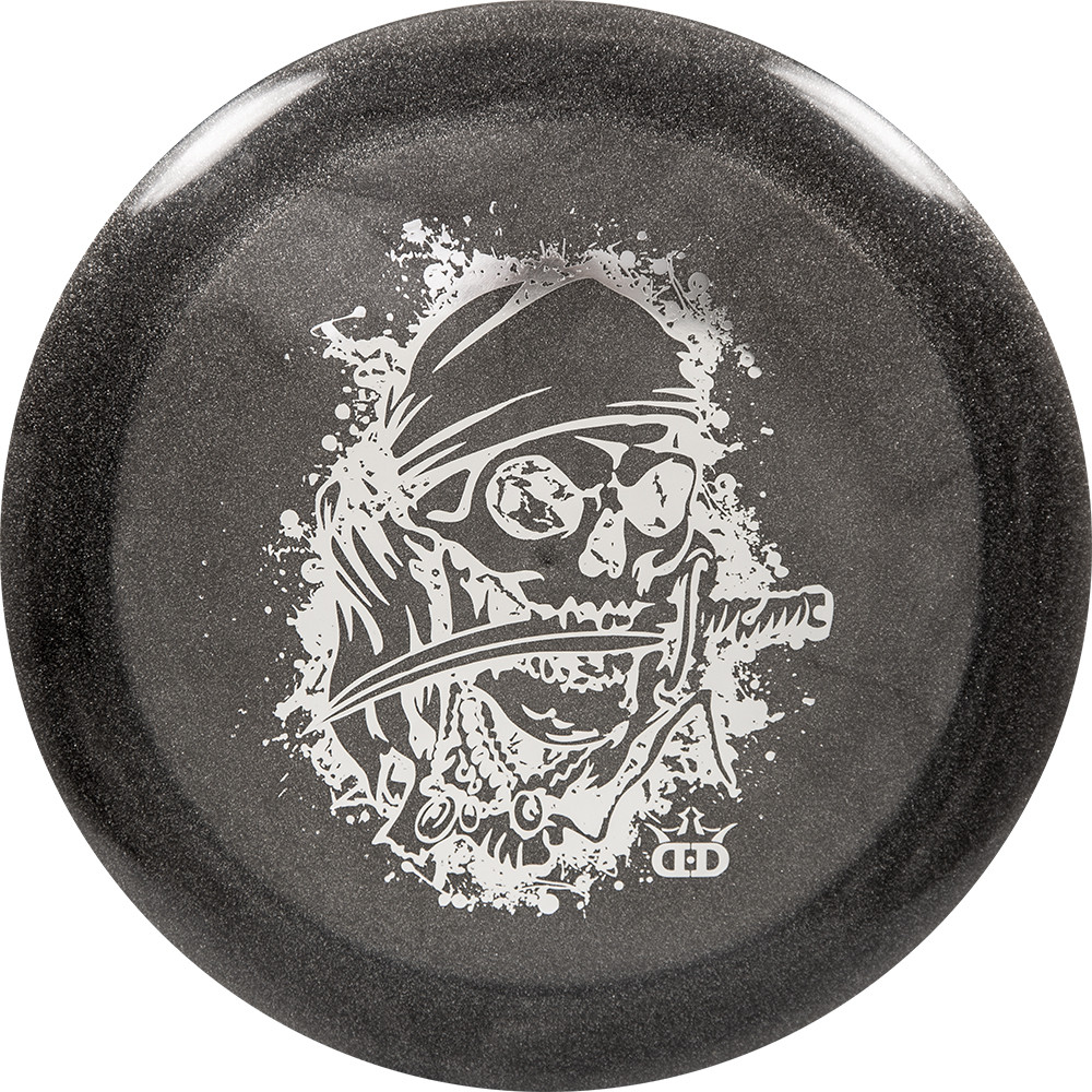 Dynamic Discs Lucid Metallic Raider Pirate Stamp