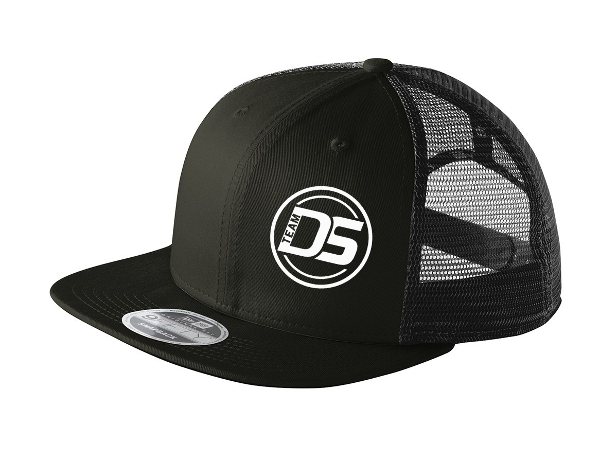 Team Disc Store New Era Snapback Flat Bill Trucker Cap