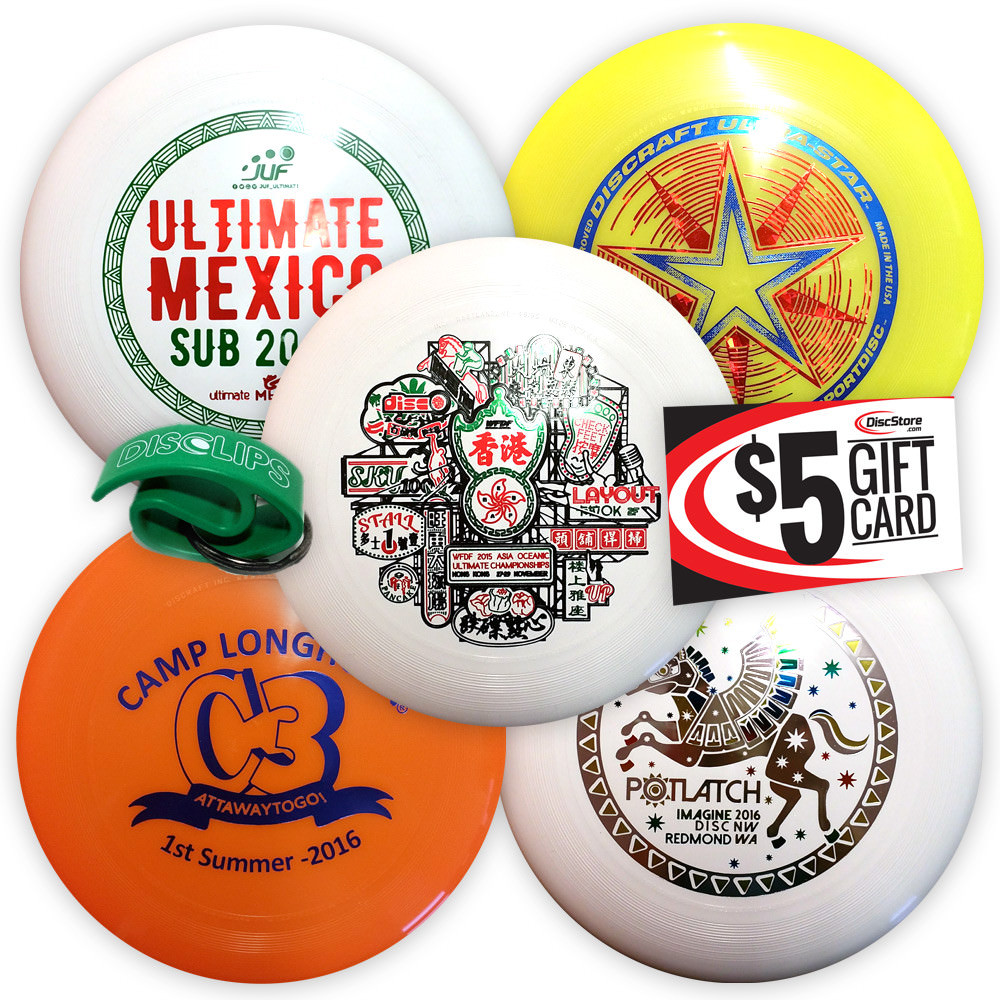 Discraft Ultra-Star Misprint 5 Disc Bundle