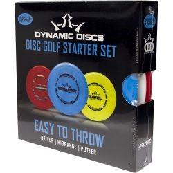 Dynamic Discs Easy To Throw Disc Golf Starter Set
