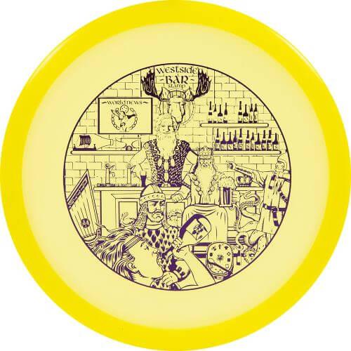 "Westside Discs VIP Gatekeeper ""Bar"" Stamp"