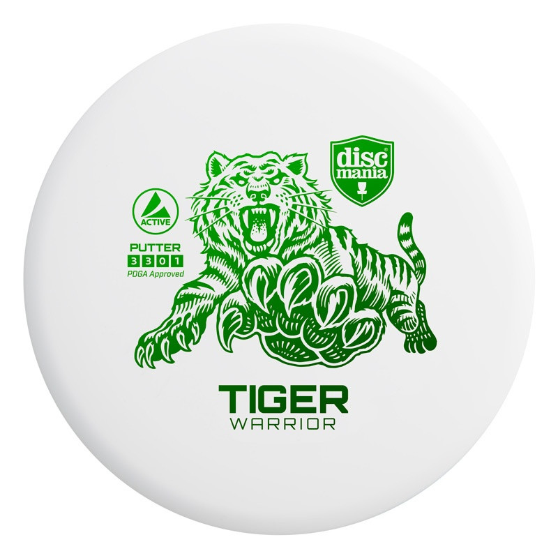 DiscMania Active Baseline Tiger Warrior