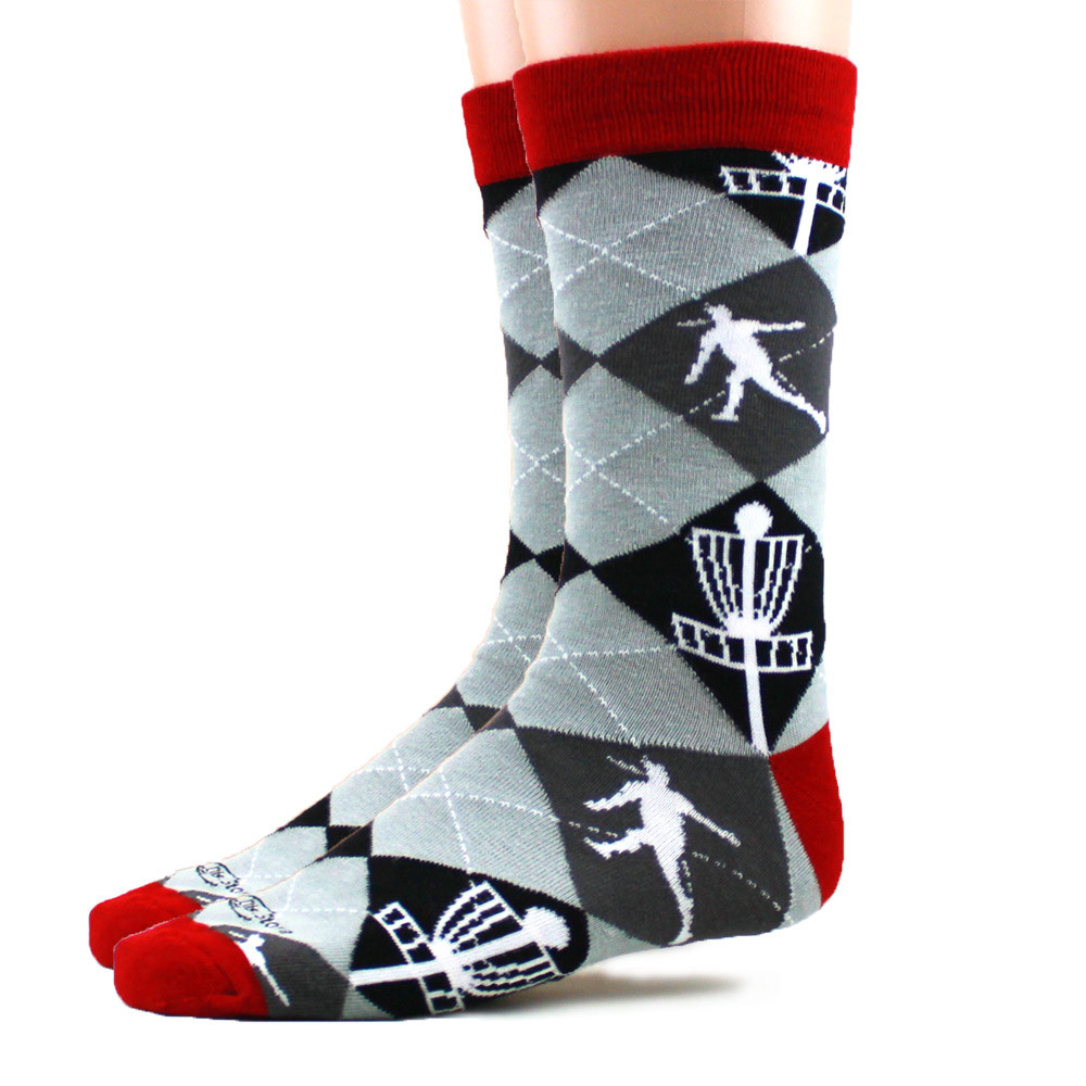 Disc Golf Argyle Socks