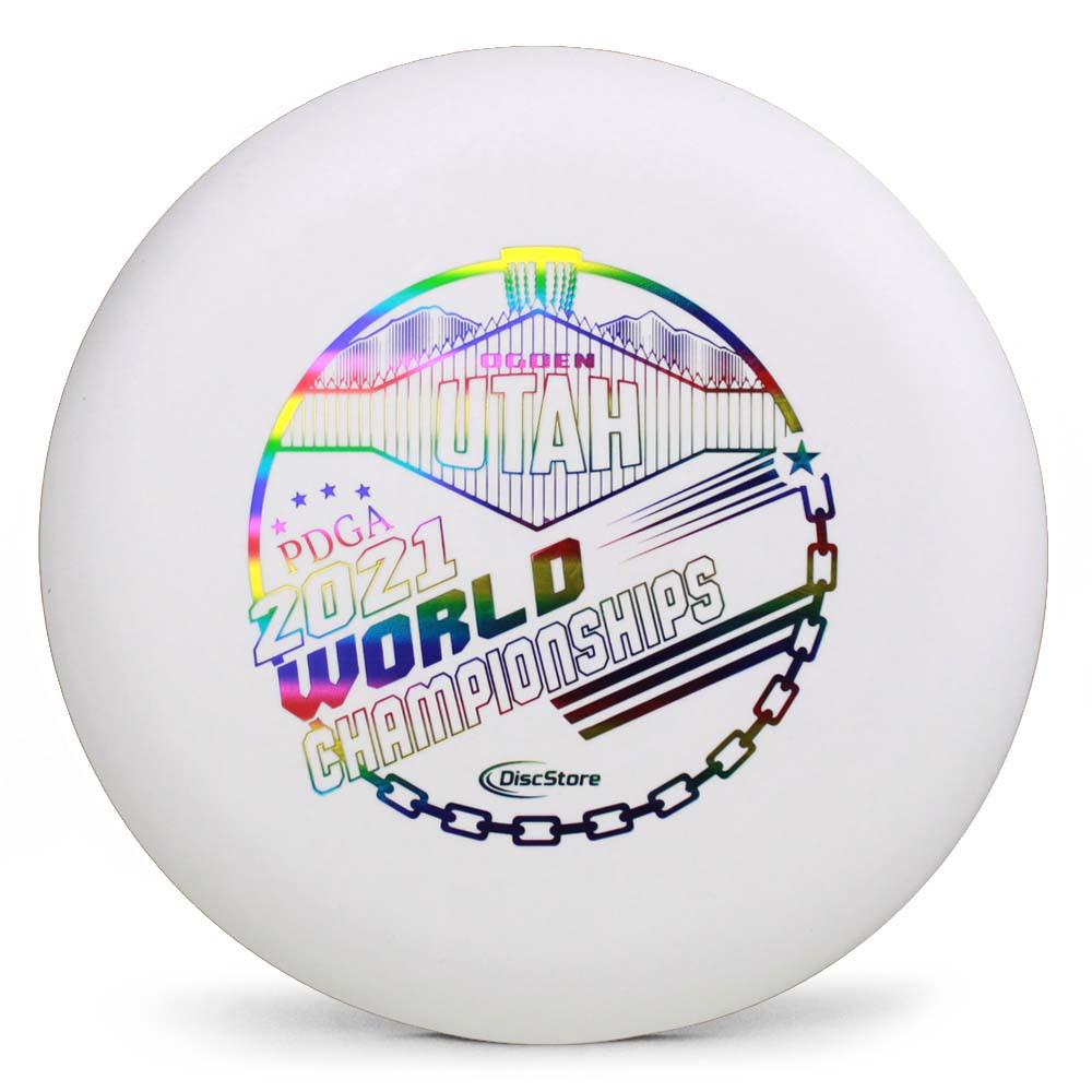 Innova DX Aviar 2021 PDGA Pro Worlds Fundraiser Stamp