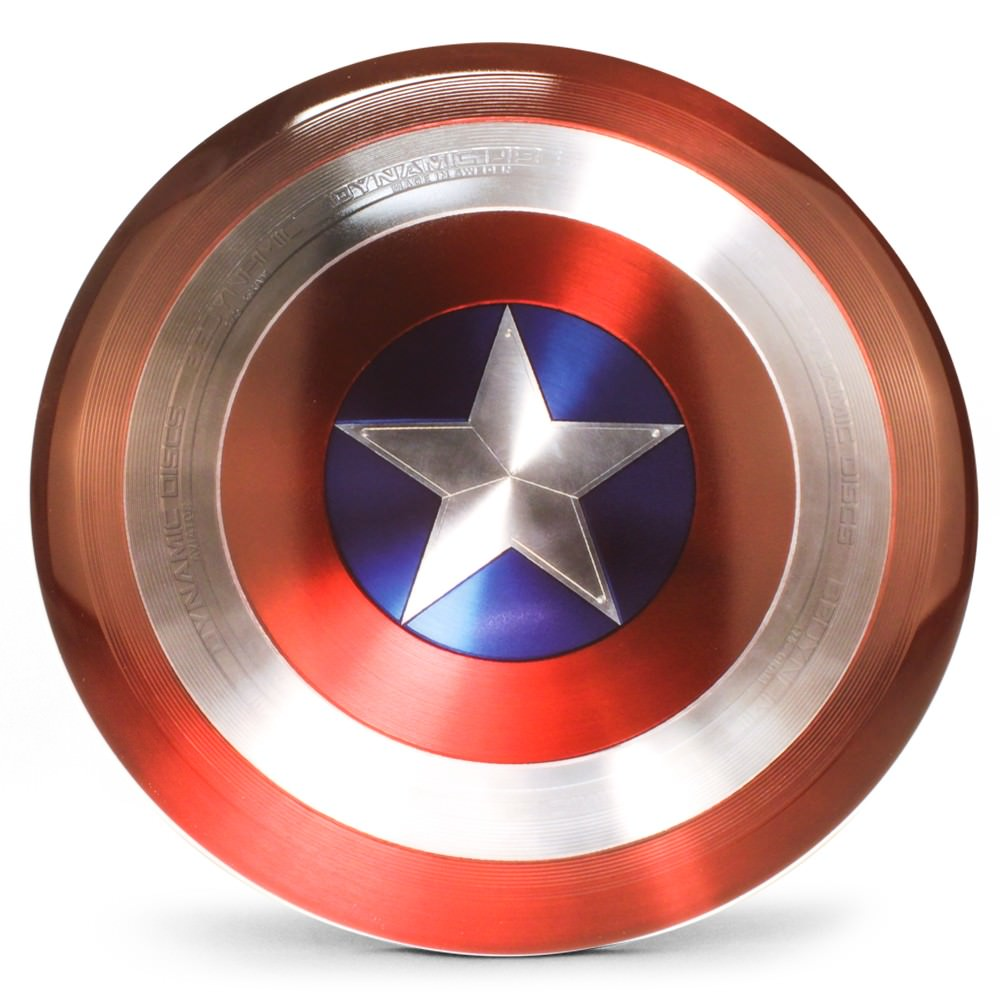 Captain America Dynamic Discs Aviator Ultimate Disc