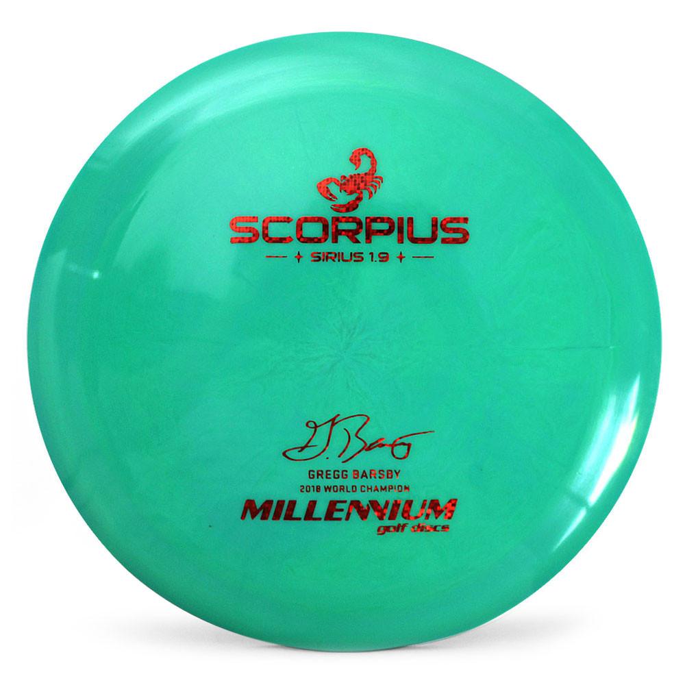 Millennium Discs Gregg Barsby Sirius Scorpius