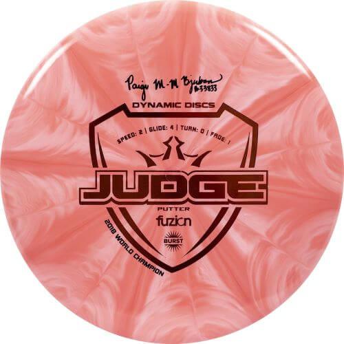 Dynamic Discs Paige Bjerkaas Fuzion Burst Judge