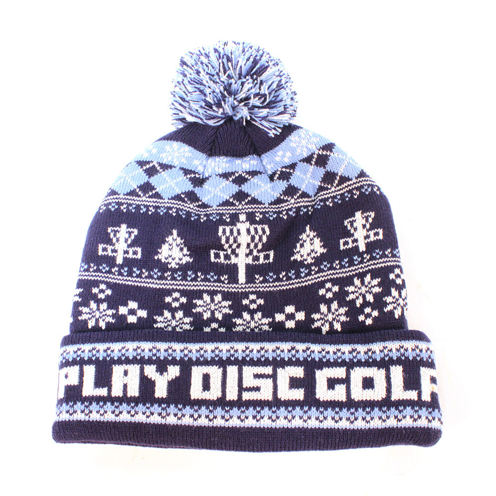 Disc Golf Ugly Knit Stocking Cap