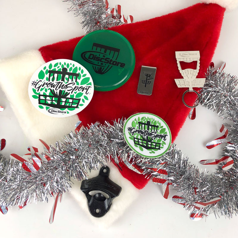 6-Pack Disc Golf Stocking Stuffer Swag Pack