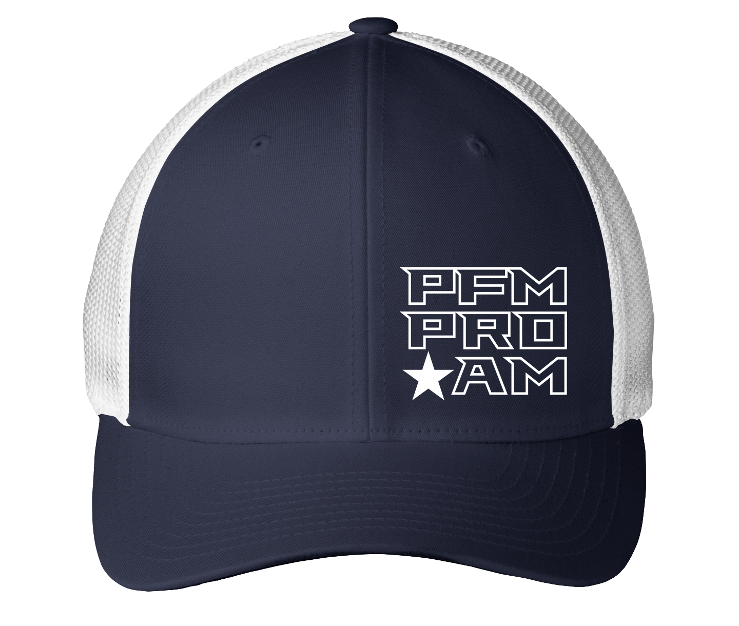 Play For More Charity Pro-Am Fundraiser Flexfit Mesh Back Cap