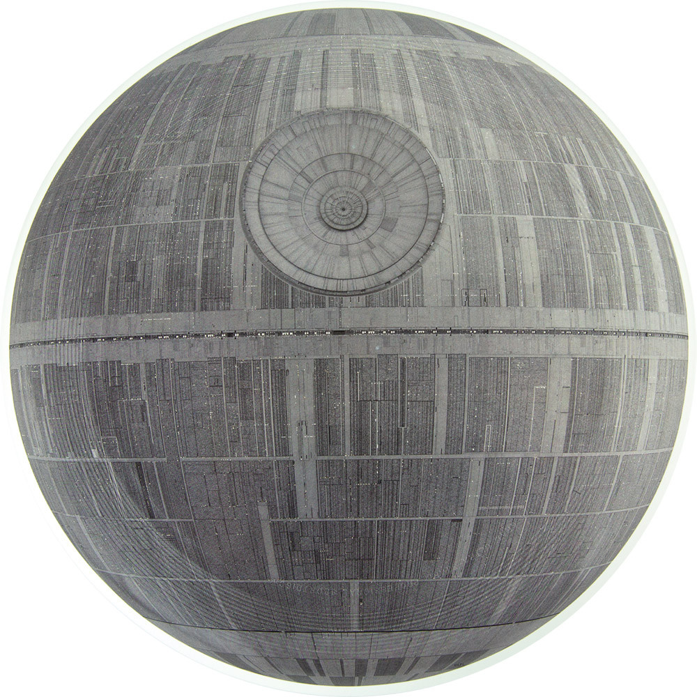 Star Wars Death Star Supercolor Discraft Ultra-Star