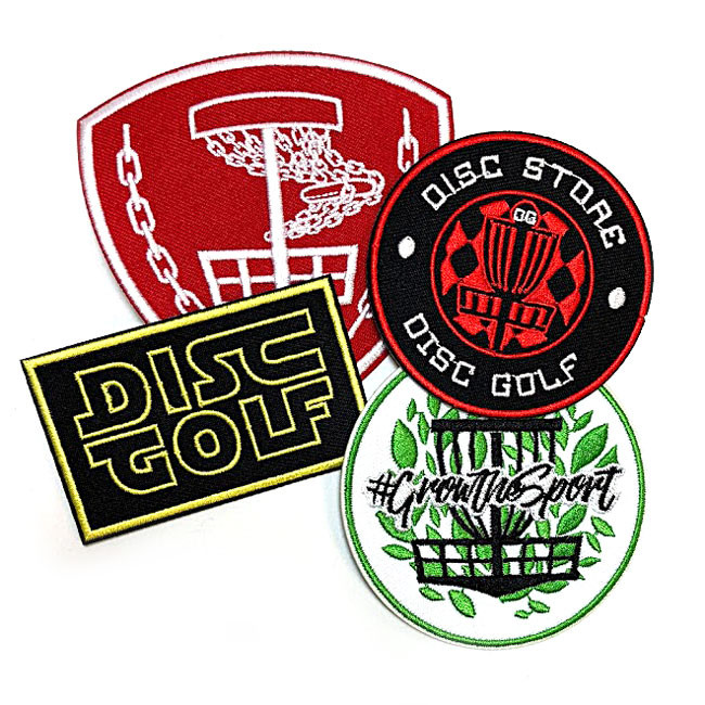 Disc Golf Bag Patches