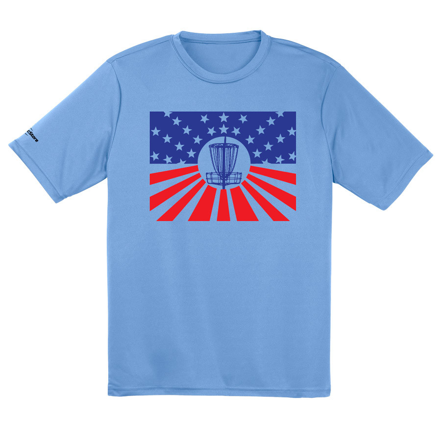 Merica Disc Golf Dry Fit Shirt