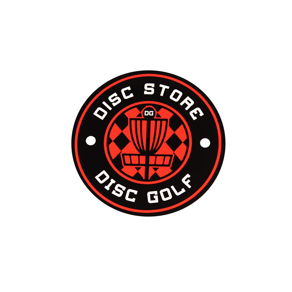 Disc Golf Stickers-discgolfemblem