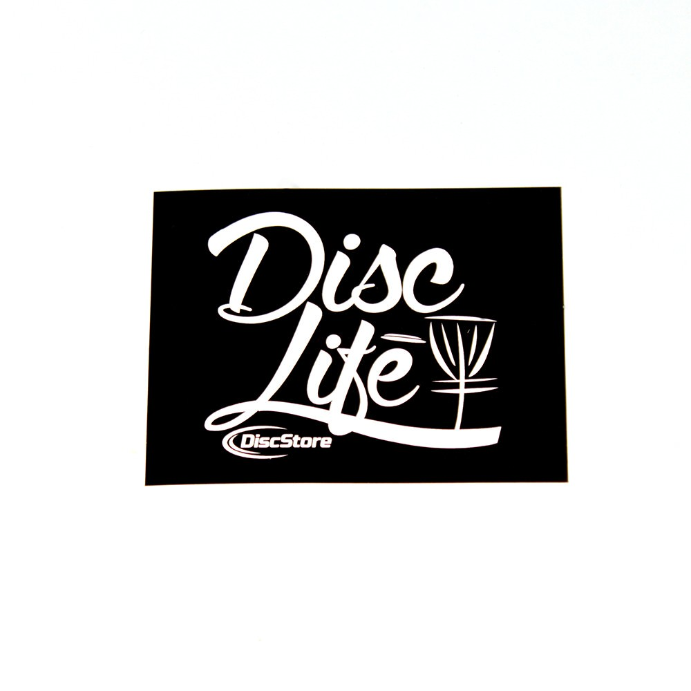 Disc Golf Stickers-disclifebasket