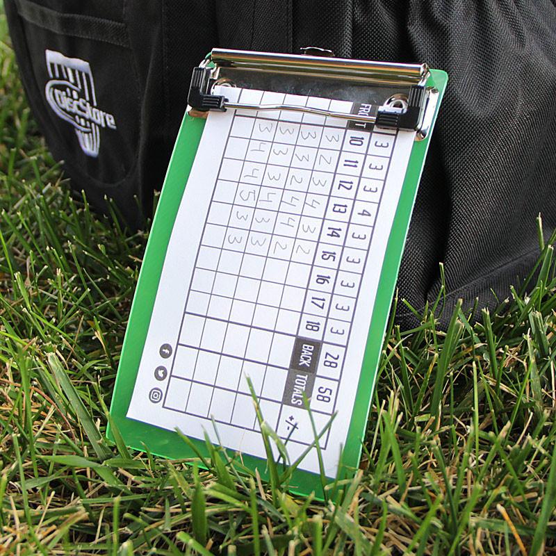 Disc Store Mini Disc Golf Scorecard Clipboard