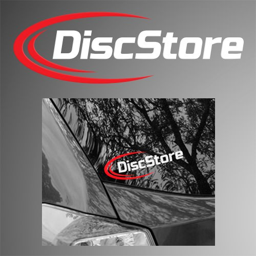 Disc Store Vinyl Decal