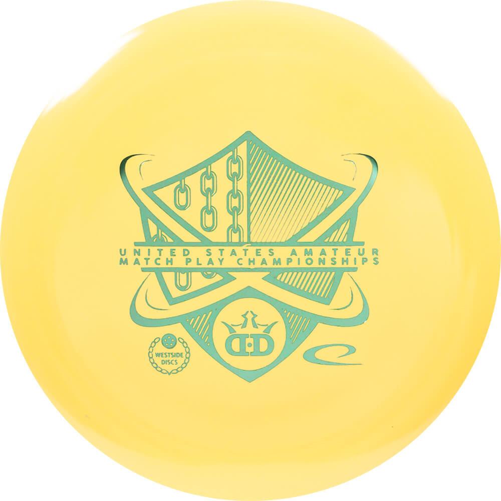 Dynamic Discs BioFuzion Raider 2019 United States Amatuer Match Play Stamp