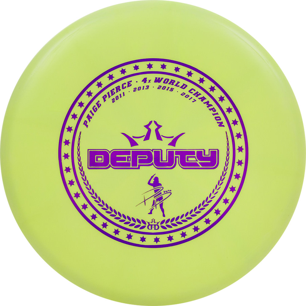 DYNAMIC DISCS CLASSIC DEPUTY PAIGE PIERCE LIMITED EDITION