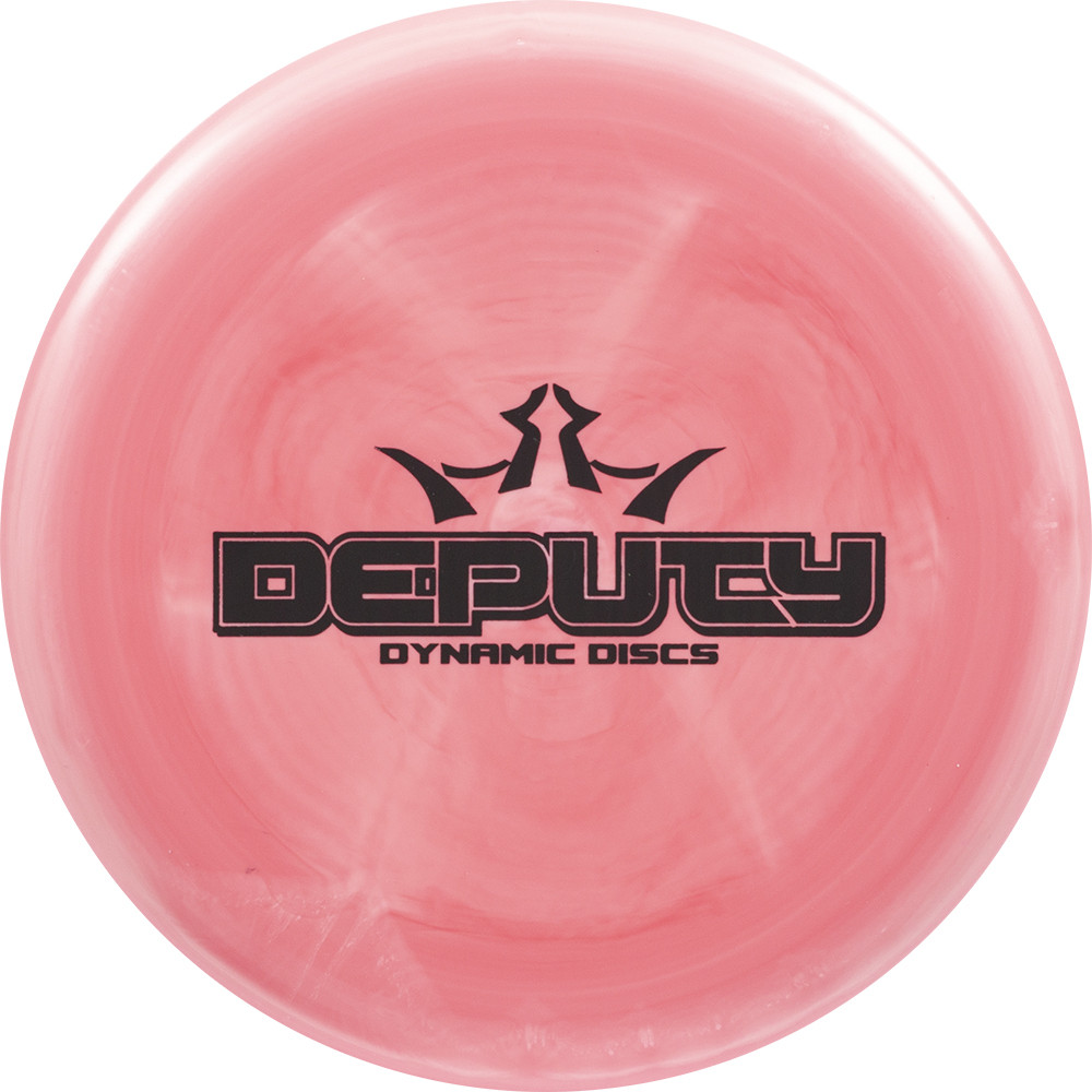 Dynamic Discs Classic Moonshine Deputy Bar Stamp