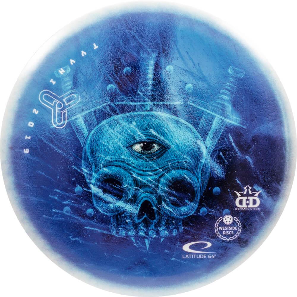 Dynamic Discs Tyyni Open Fundraiser DyeMax Fuzion Trespass