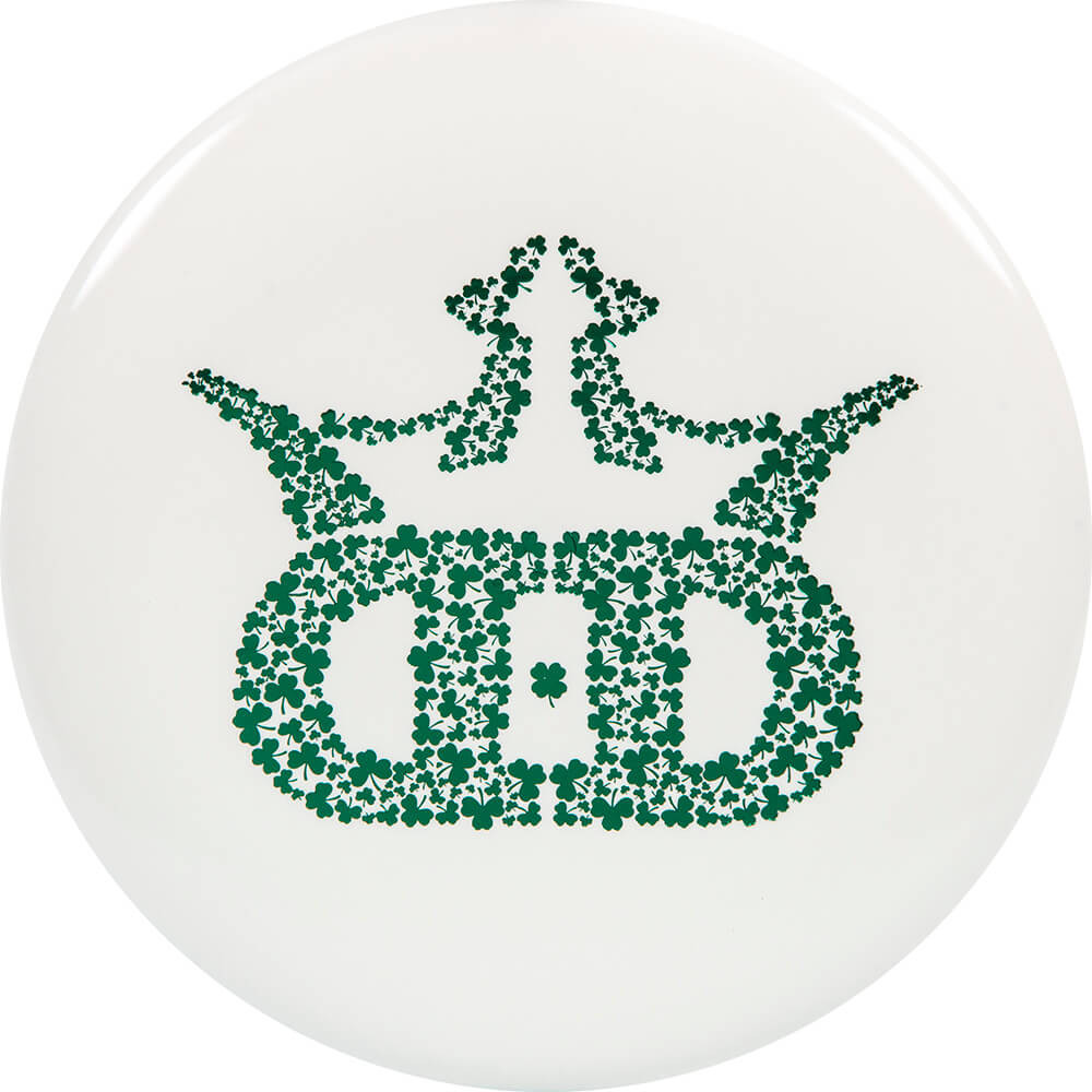 Dynamic Discs Fuzion Warden Shamrocks Stamp