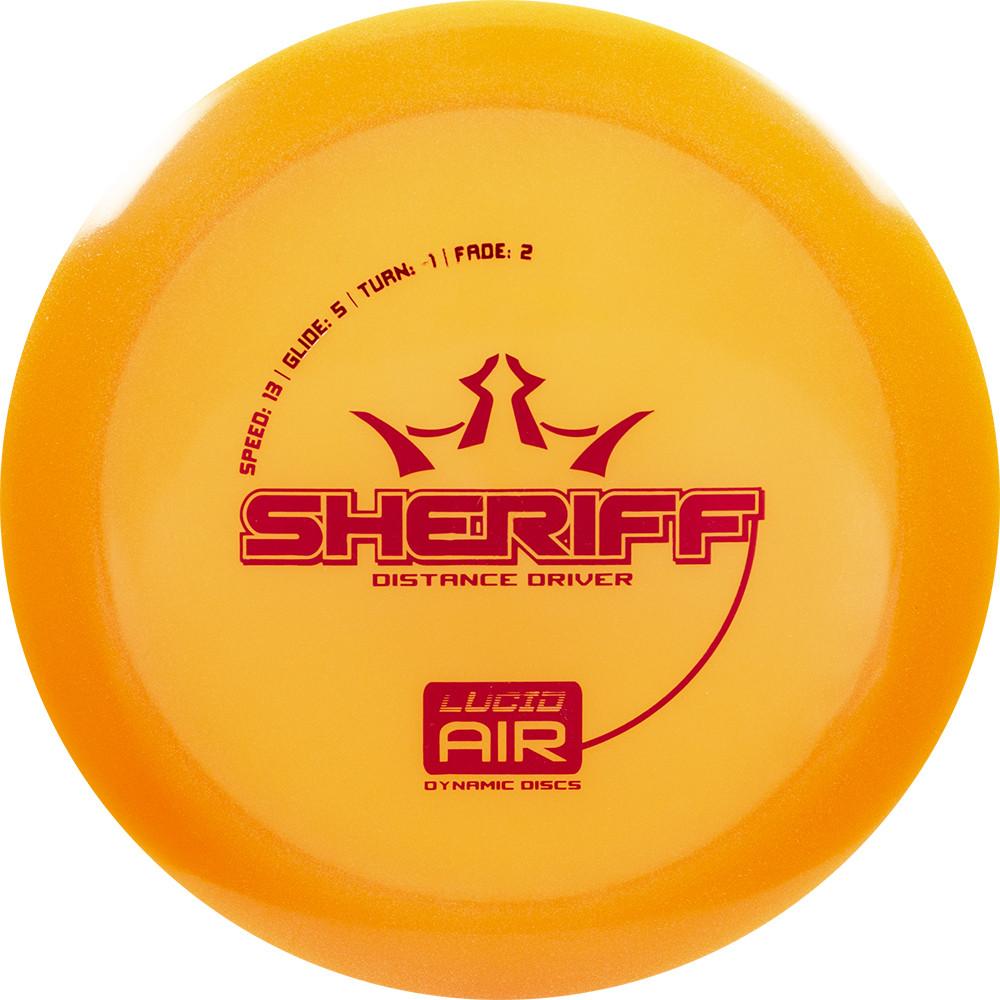 Dynamic Discs Lucid Air Sheriff