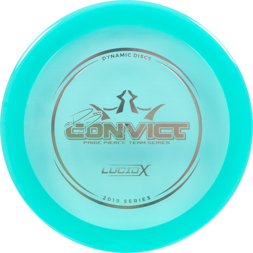 Dynamic Discs Lucid-X Convict Paige Pierce 2019 Team Series