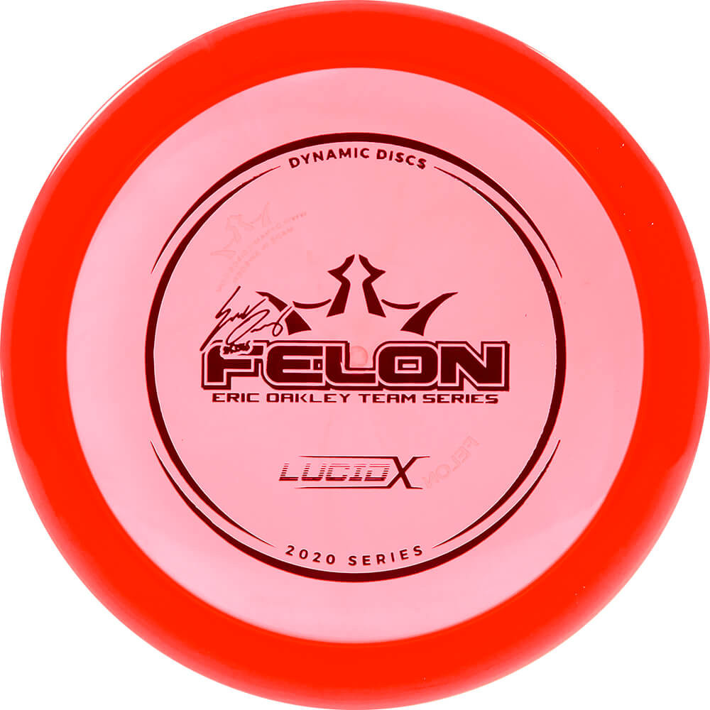 Dynamic Discs Lucid-X Felon Eric Oakley 2020 Team Series