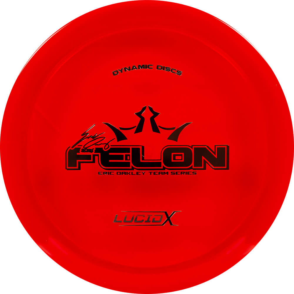 Dynamic Discs Lucid-X Felon Eric Oakley 2018 Team Series