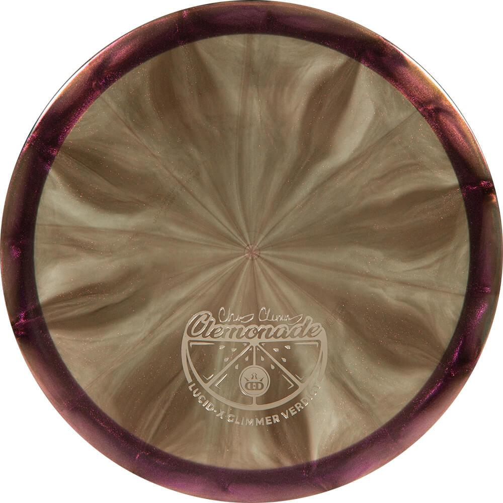 Dynamic Discs Lucid-X Glimmer Verdict Clemmonade Tour Series