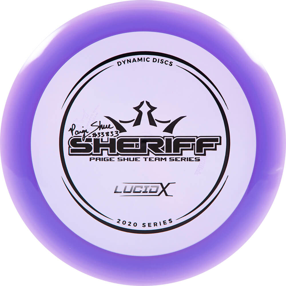 Dynamic Discs Lucid-X Sheriff 2020 Paige Shue Tour Series