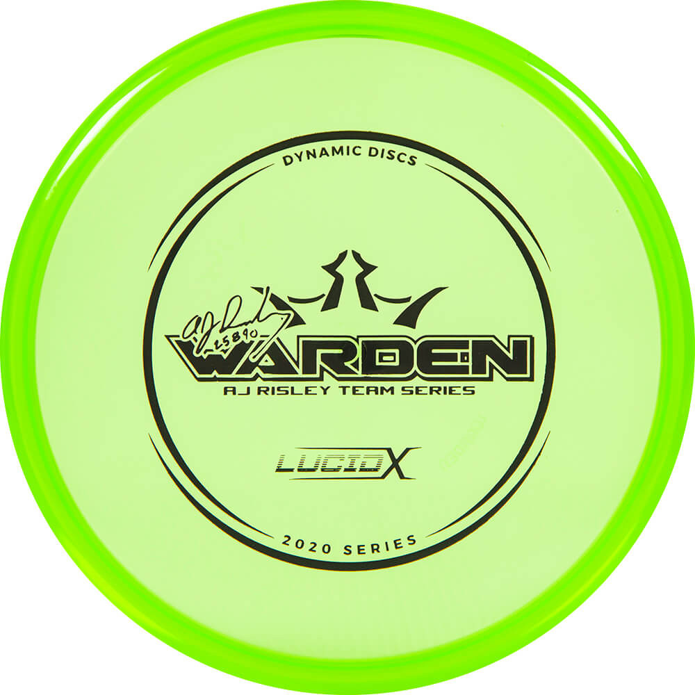 Dynamic Discs Lucid-X Warden A.J. Risely Tour Series