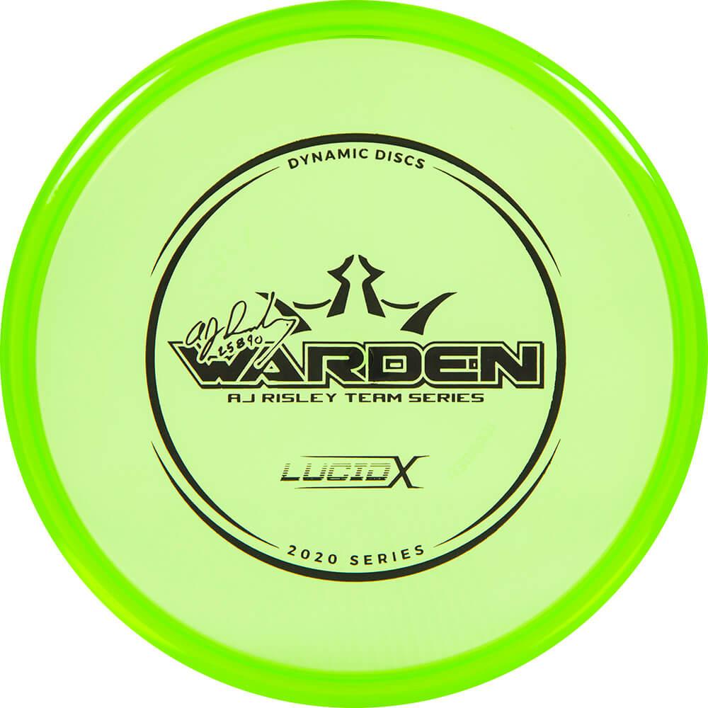 Dynamic Discs Lucid-X Warden A.J. Risely Tour Series