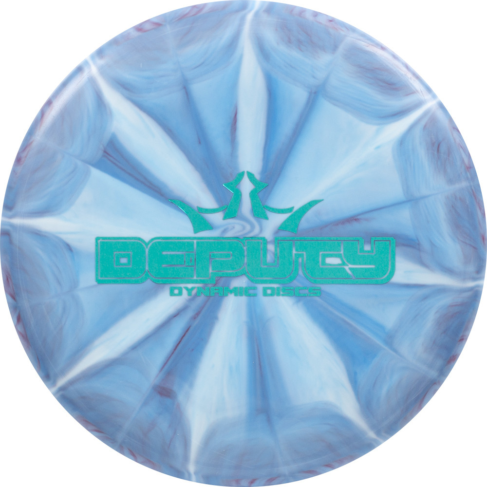 Dynamic Discs Prime Moonshine Burst Deputy Bar Stamp