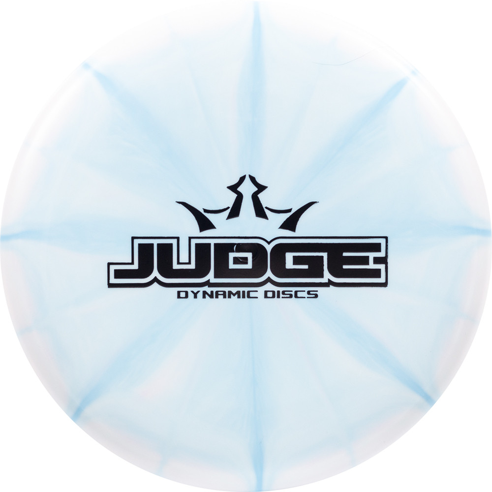 Dynamic Discs Prime Moonshine Burst Judge Bar Stamp