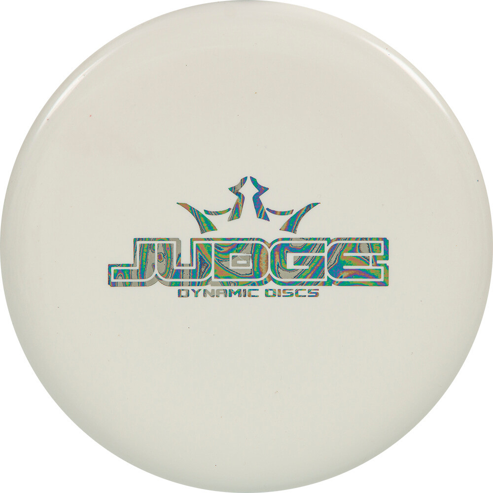 DYNAMIC DISCS TEST PLASTIC BAR STAMP JUDGE