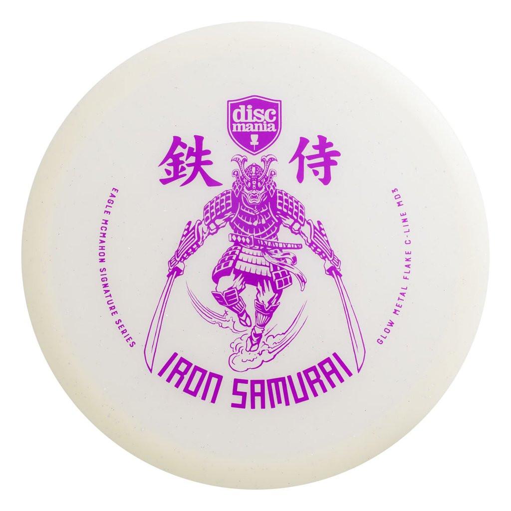 Discmania Eagle McMahon Signature Metal Flake Glow C-Line MD3 Iron Samurai