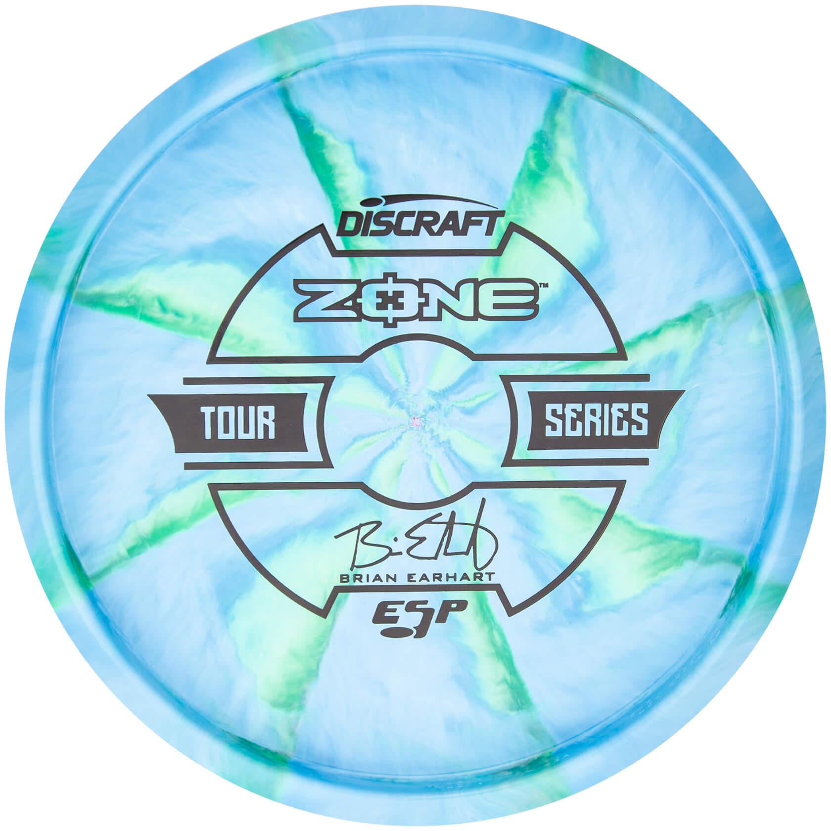 Discraft Swirly ESP Zone Brian Earhart 2019 Tour Series