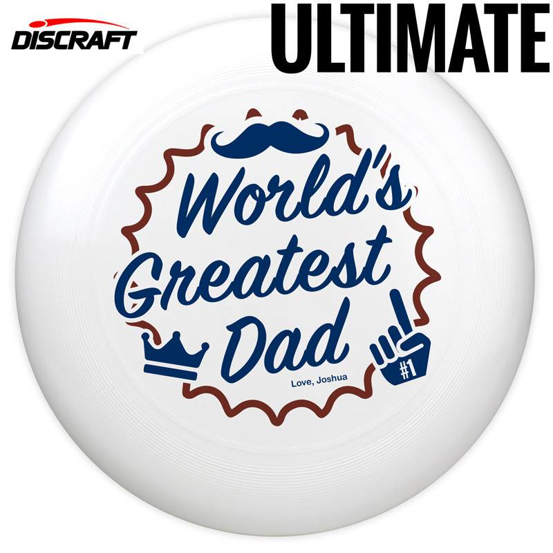Semi-Custom Discraft Ultra-Star Father's Day Ultimate Disc
