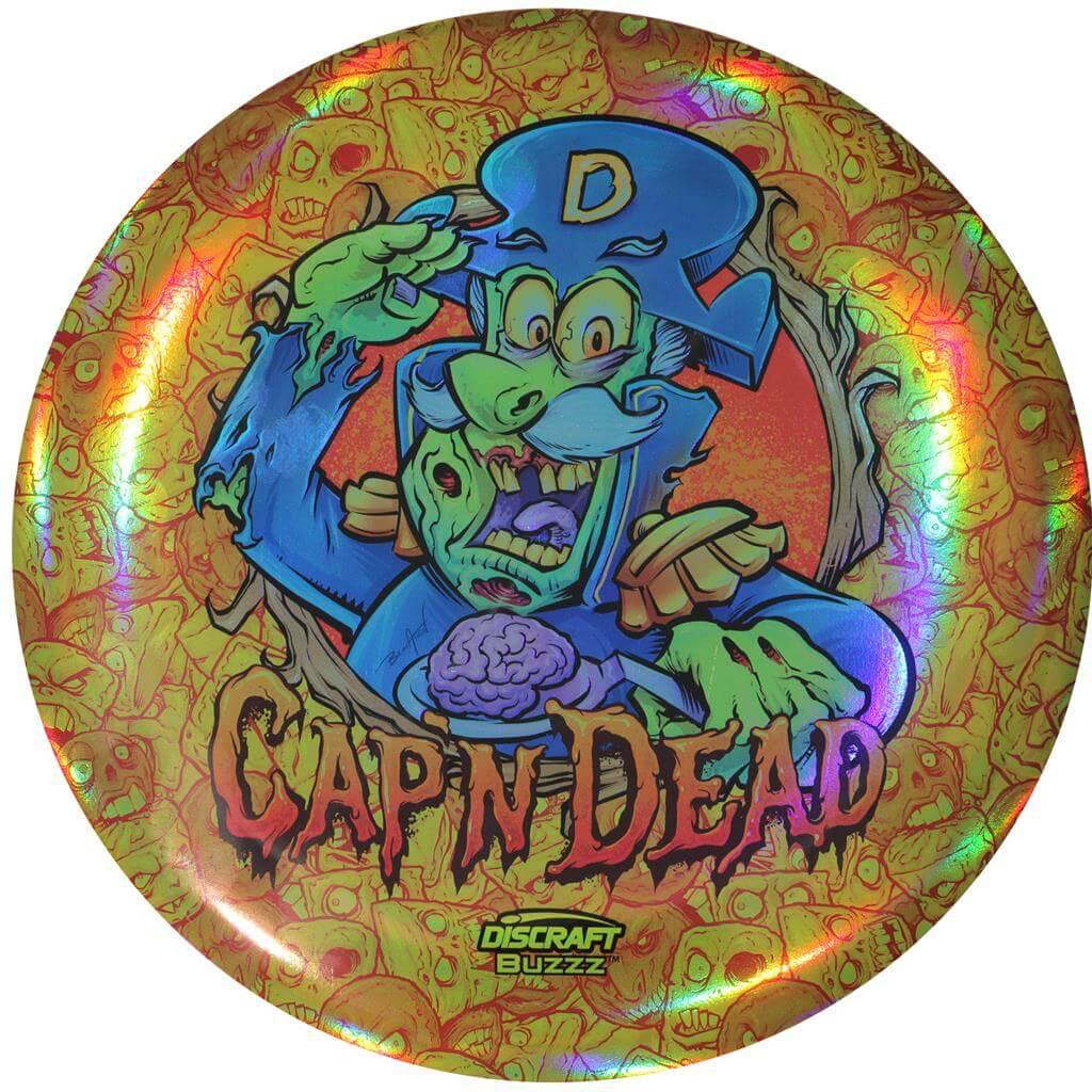Discraft Cap'n Dead Full Foil Supercolor Buzzz