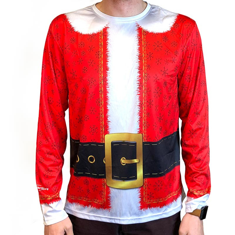 Santa Suit Full Sub Long Sleeve Jersey