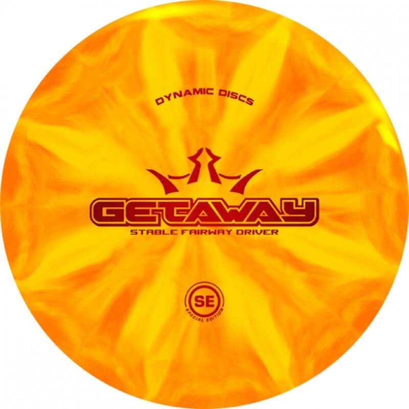 Dynamic Discs Special Edition Fuzion X-Blend Burst Getaway