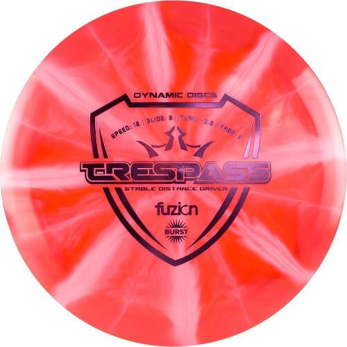 Dynamic Discs Fuzion Burst Trespass