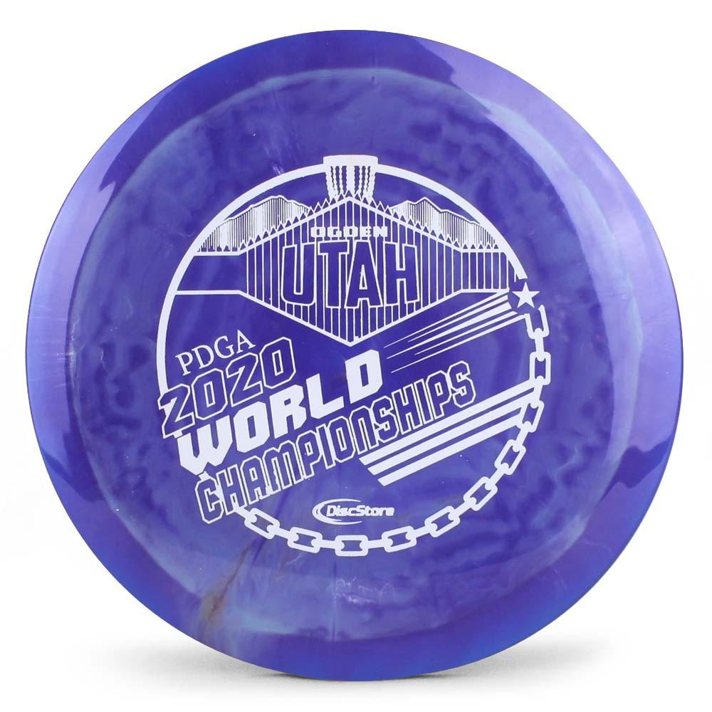 Prodigy 500 Spectrum FX-2 2020 PDGA Pro Worlds Fundraiser Stamp