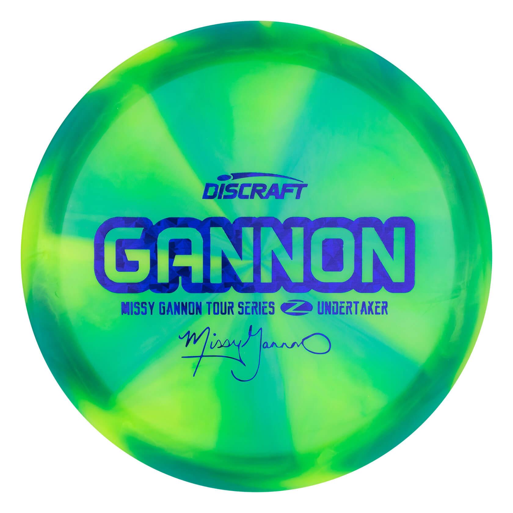 Discraft Swirly Z Undertaker Missy Gannon Tour Series