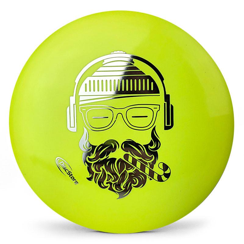 Hipster Santa Dynamic Discs BioFuzion Trespass