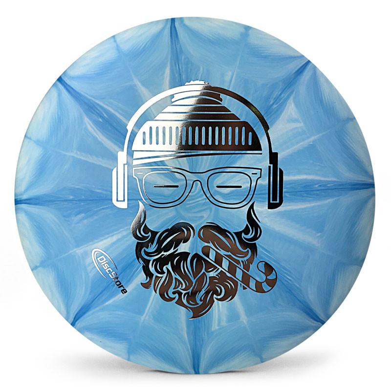 Hipster Santa Dynamic Discs Classic Blend Burst Warden