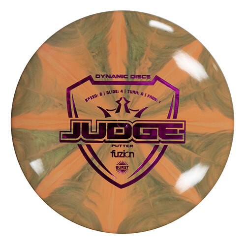 Dynamic Discs Fuzion Burst Judge