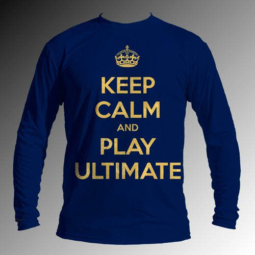 Keep Calm & Play Ultimate Long Sleeve Jersey